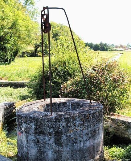 Obtener agua de pozo