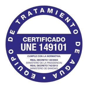 sello certificado une 149101