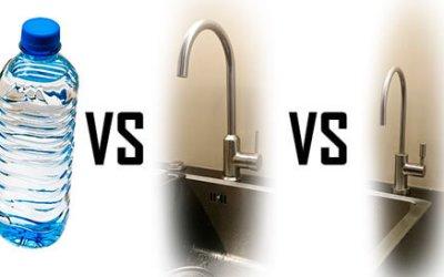 Qué tipo de agua es mejor: embotellada, de grifo u osmosizada